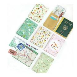 인디고 new_윌로우 패턴 여권커버