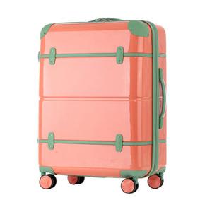 트래블하우스 캐리어 소울 기내용 19형 레드&그린 여행가방 (T2800)